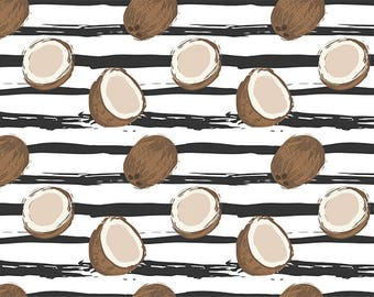 MODERN, ORIGINAL, durable and WASHABLE PLACEMAT - coconut cocosur background Zebra - classic.