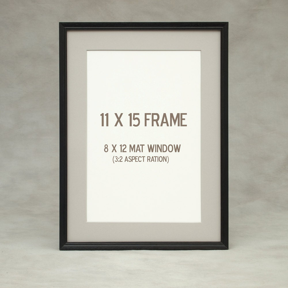 11x14 11x15 thin black picture frame peruvian walnut exotic zoom jeuxipadfo Image collections