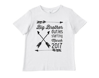 Personalised Big Brother Duties T-Shirt