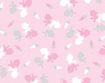Hunny Bunny - 8404-01 Baby Bunnies Pink - by Kanvas Studios in Association with Benartex