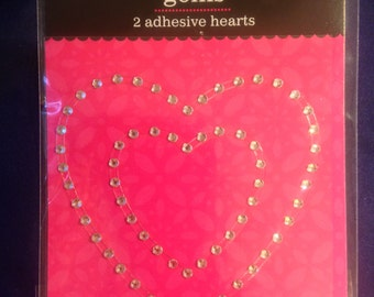 Colorbok --  Heart Gems  --   NEW  --  Clear   --   (#998)