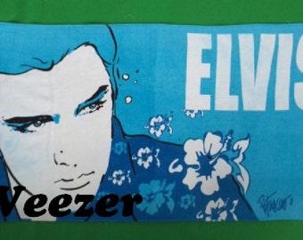 Elvis Presley Beach Towel Blue Hawaiian - Personalized Beach Towel
