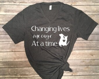 Changing lives one cage at a time Shirt