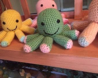 Octopus Garden Crochet Doll