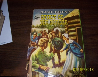 Vintage Childs Book The Spirit of the Border Fiction