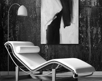 CUSTOM, Black and White Abstract Art, abstract expressionism, custom art, modern art, contemporary, wall art, canvas art, original art
