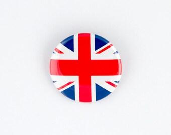 Union Jack , England, British Flag Button or Bottle Opener.