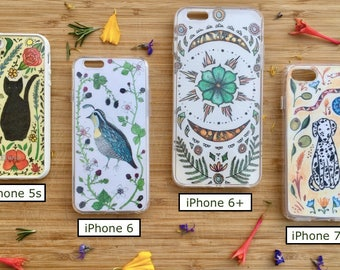 iPhone case art - Interchangeable designs - Illustrations for clear case