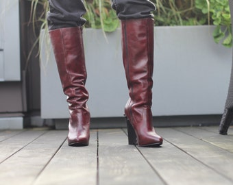 Mord-Sith Boots Upcylced Inspired by Legend of the Seeker
