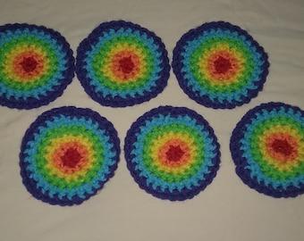 Rainbow Color Coaster