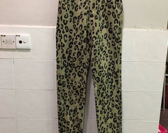 Authentic Guess Leopard Printed Jeans