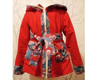 Made to order: girls windproof jacket