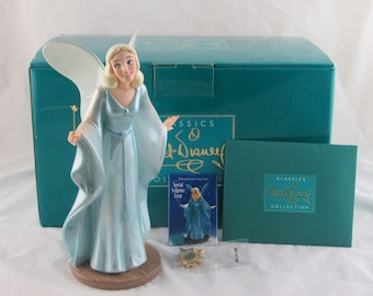 "WDCC ""Making Dreams Come True"" Blue Fairy from Disney's Pinocchio in Box with COA and Pin"