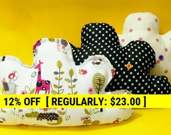Baby Gift, Custom cloud pillow, cloud pillow, cloud pillow, Soft Cotton Pillow, Home Décor, Decorative Pillow, Nursery Decor
