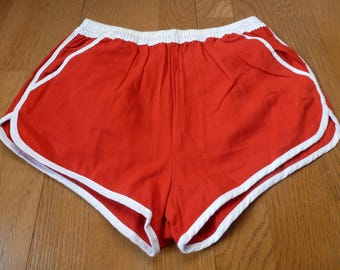 high shorts fitted sport 70s retro atlhetis