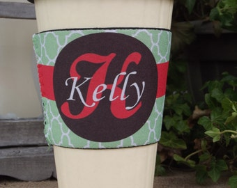 Personalized Sofia Coffee Cup Sleeve
