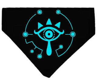 Sheikah Eye Dog bandana|Nintendo|Legend of Zelda|Gifts for gamers