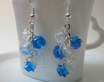 Deep Sea LEGO® Cascade Earrings