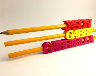 Personalized Pencil Holders-Covers-Sleeves 3D Printed