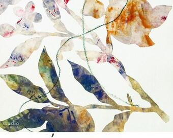 2018 12-Month Botanical Print Calendar