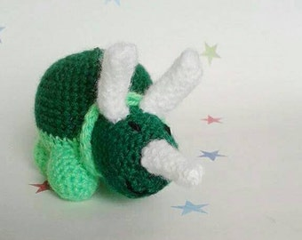 Triceratops plush, dinosaur teddy, stuffed animal, gift for kids, children's toy, dino Ted, good dinosaur, birthday present, dino roar