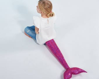 La Sirena - sparkling pink, mermaid, mermaid tail, x-mas gift, girls, Christmas Gift
