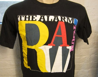 Size L (44) ** Rare 1991 The Alarm Concert Shirt (Double Sided)