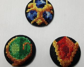 Handmade Legend of Zelda Spiritual Stones pack