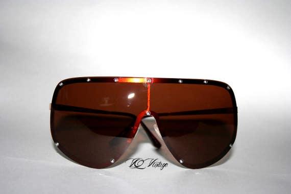 Shield Sunglasses Half Face Mask