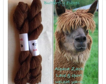100% Alpaca Lace weight Yarn