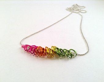 25 Stitch Marker Necklace