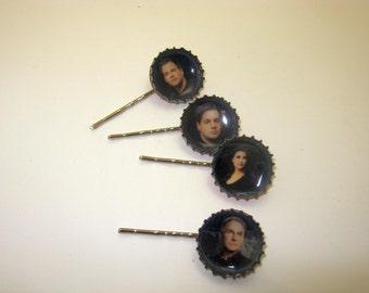NCIS  Bottle Cap Hair Pins