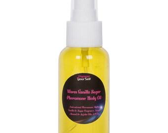 French Vanilla Oak Women Pheromone Perfume Body Oil 2.7 Fl Oz