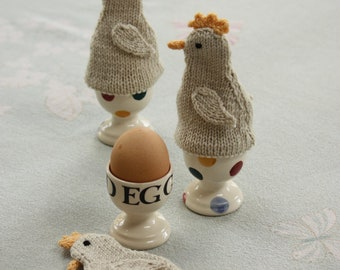 Little Chick Egg Cosies Knitting Kit
