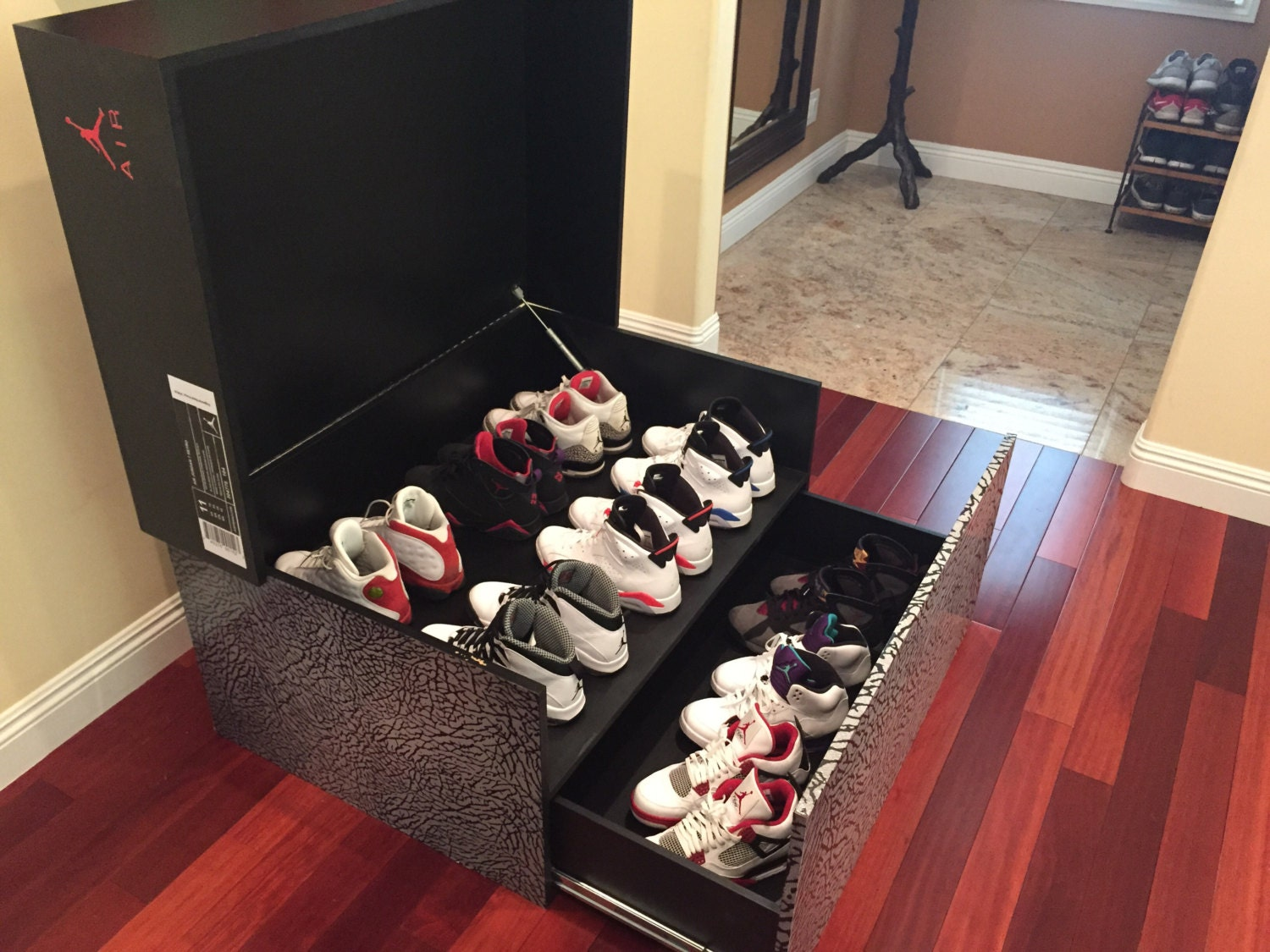 Air Jordan Custom Shoe Box