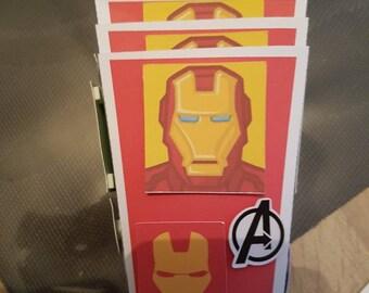 Avengers candy jars. Set of 5.