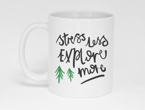 Stress Less Explore More Mug (With Gift Box)