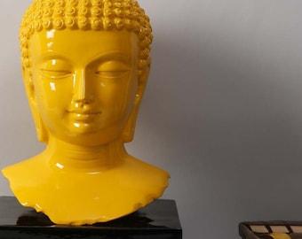 Buddha Statue - Yellow