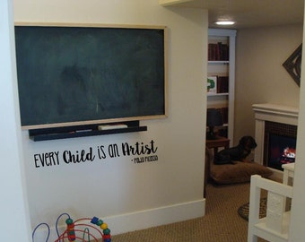 Every Child is an Artist vinyl design wall sticker