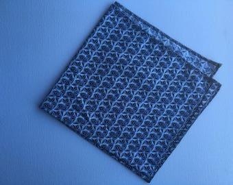 greyscale hex star bandana