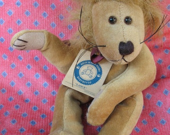 Lance the Lion Boyds Bear-with tags, retired