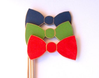 Bow Tie Photobooth props | Wedding Photo Booth |  Photo Booth Props | Party Props | Tummy Tickles Designs