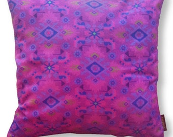 Sofa pillow purple velvet cushion cover VIOLET