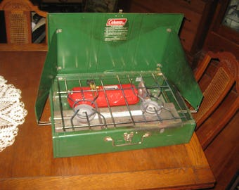 Vintage COLEMAN STOVE Camping stove good condition 1970's