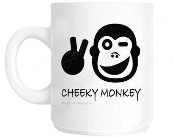 Cheeky Monkey Novelty Fun Mug CH419