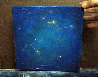 Original Painting - Canis Major (The Dog) Constellation