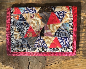 Quirky quilted wallet