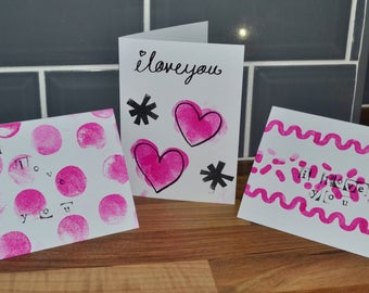 Pack of 6 Valentines Cards