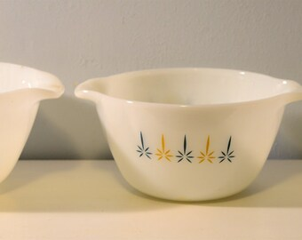 Fire King Nesting Bowls from the 1950's