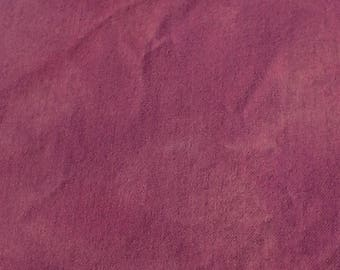 Hand dyed wool fabric - medium purple wool - rug hooking - applique and crafts - primitive crafting - quilting - sewing - needle arts - 023